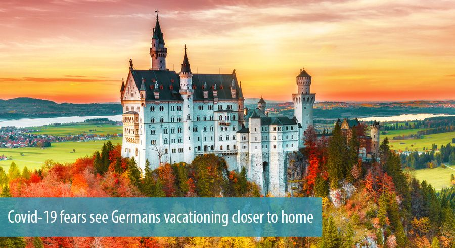 Covid-19 fears see Germans vacationing closer to home