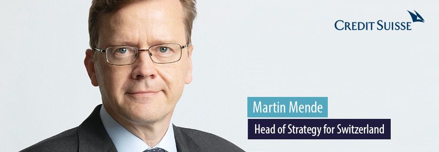 Martin Mende, Head of Strategy for Switzerland, Credit Suisse
