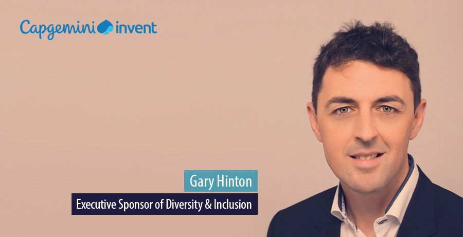 Gary Hinton, Executive Sponsor of Diversity & Inclusion, Capgemini Invent