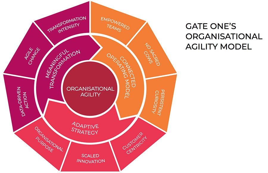 Gate One's organisational agility model