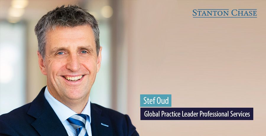Stef Oud, Global Practice Progessional Services, Stanton Chase