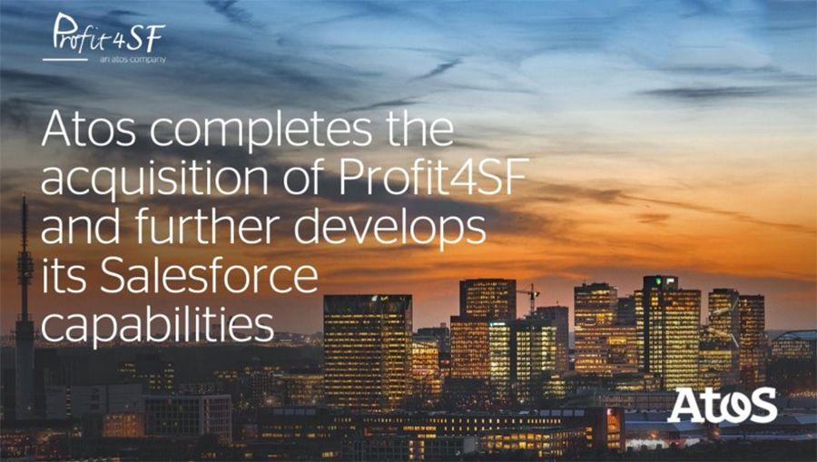 Atos acquires platinum Salesforce partner Profit4SF