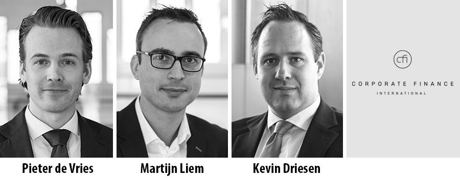 Pieter de Vries, Martijn Liem, Kevin Driesen - Corporate Finance International