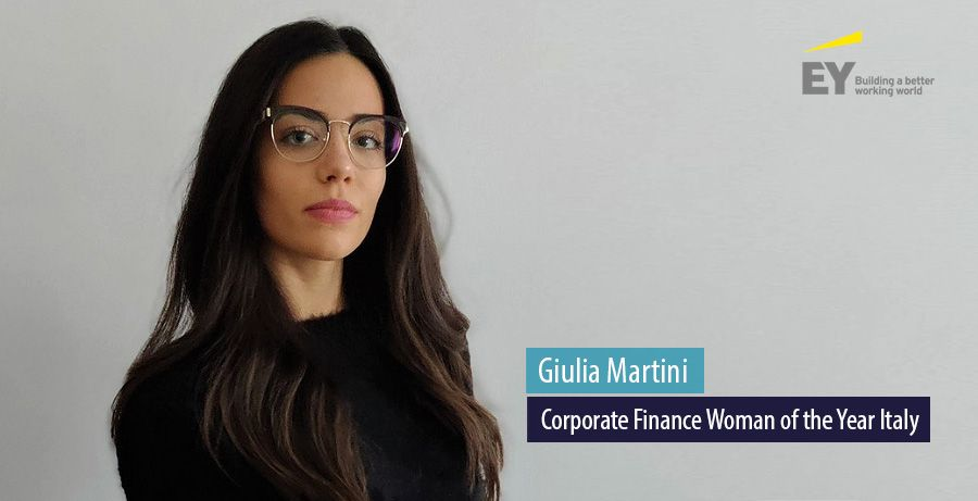 Giulia Martini, EY Corporate Finance Woman of the Year Italy