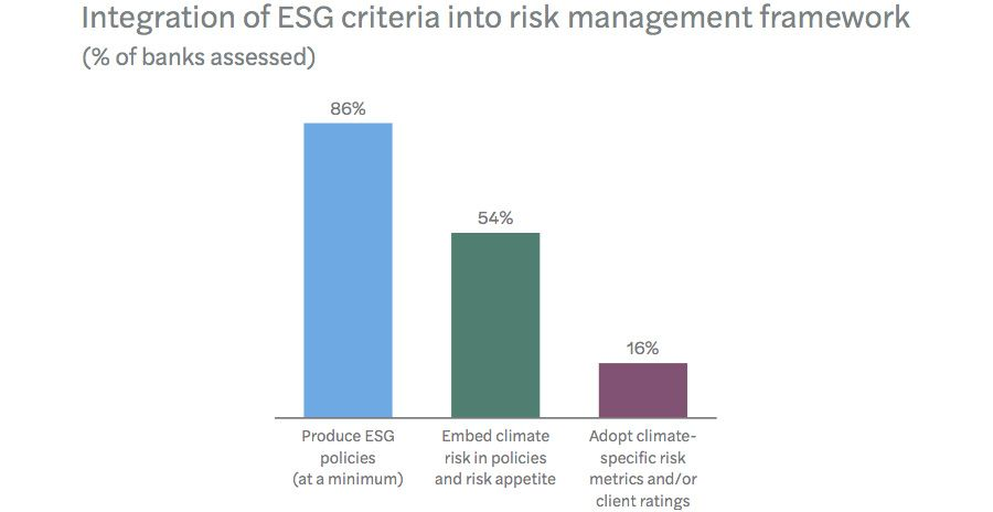 Integration of ESG and climate change in risk management