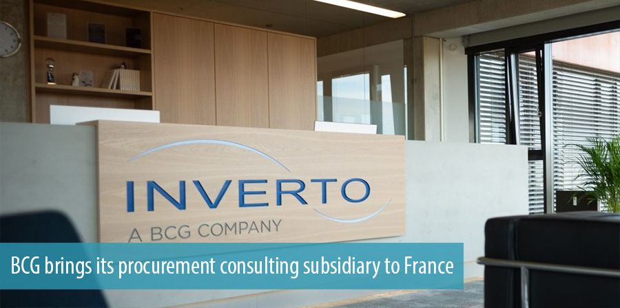 BCG brings its procurement consulting subsidiary to France
