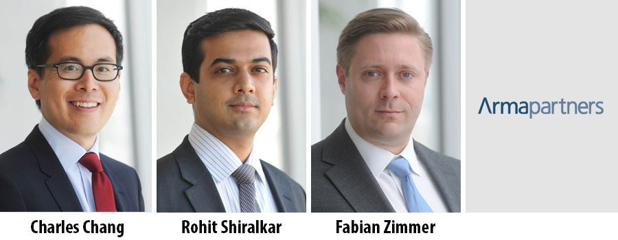 Charles Song, Rohit Shiralkar und Fabian Zimmer - Arma Partners