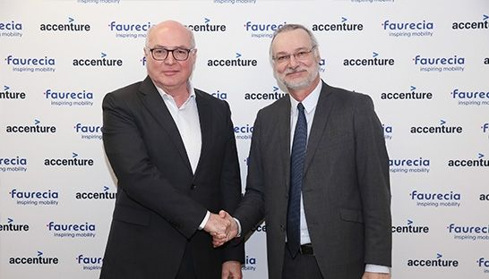 Accenture and Faurecia Group partner to tap into connected car market