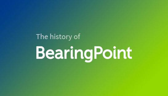 The history of management and technology consultancy BearingPoint