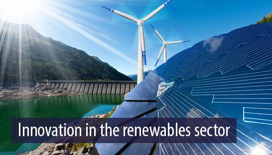 Innovation in the renewables sector is crucial to meet Paris targets