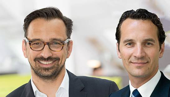 Andreas Form and Robert Kromoser partners at A.T. Kearney in DACH
