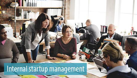 Tips for corporates looking to foster internal startup management