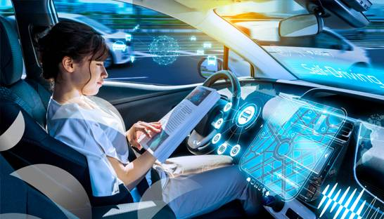 Sleeping and relaxing in the car is prime attraction for autonomous driving