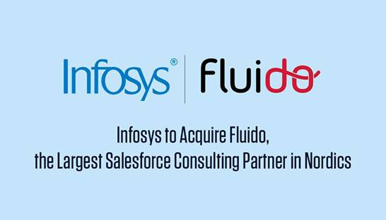 Infosys Consulting buys Finnish Salesforce partner Fluido Oy for ?65 million