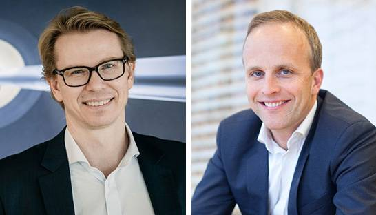 PwC Norway's new leadership: Leif Arne Jensen and Petter Vold
