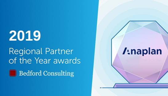 Bedford Consulting wins Anaplan's Partner Award for EMEA region