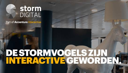 Accenture Interactive buys Dutch marketing agency Storm Digital