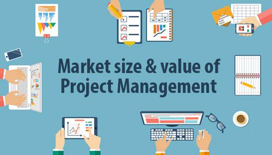 What is the market size and value of project management?