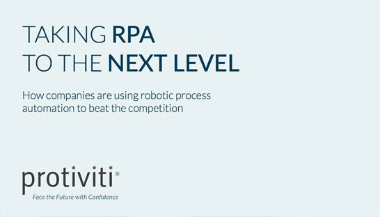 Alongside productivity, RPA can enable a multitude of benefits