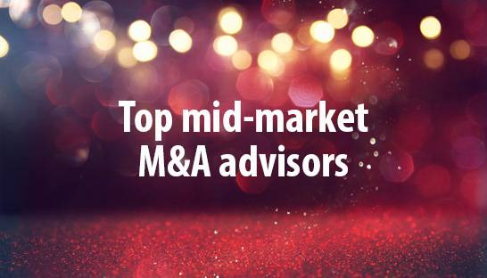 Europe's top 25 mid-market financial M&A advisors and firms