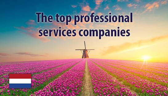 The top professional services companies in the Netherlands