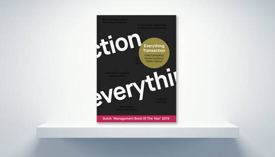 Award-winning book Everything Transaction available in English