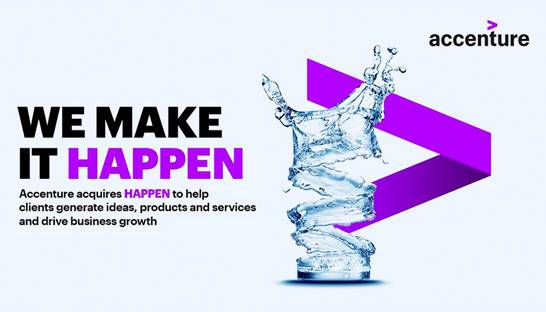 Accenture buys digital innovation consultancy Happen