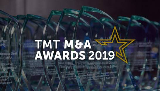 EY-Parthenon and Solon recognised for M&A services in TMT