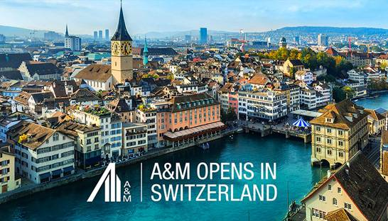 Alvarez & Marsal opens Swiss office, 19th in Europe