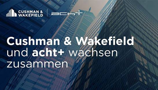 Real estate consultancy acht+ joins Cushman & Wakefield