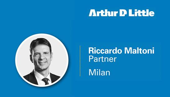 Riccardo Maltoni joins Arthur D. Little as a partner in Italy