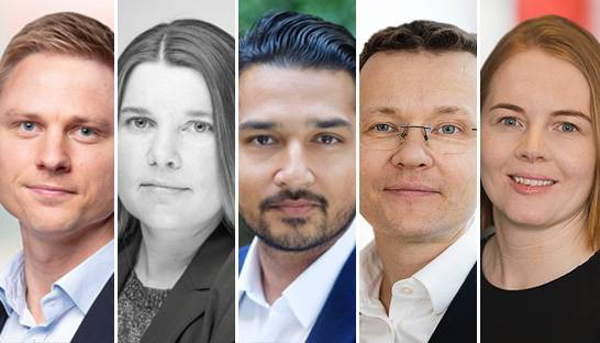 Bain & Company appoints five partners in the Nordics