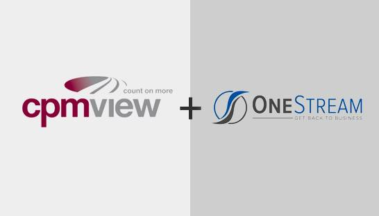 CPMview joins partner ranks of OneStream Software