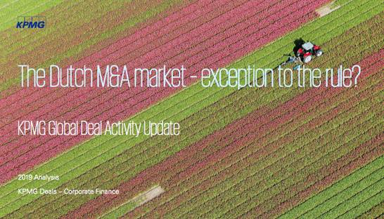 Dutch M&A activity grows for sixth consecutive year