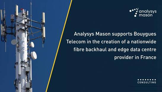 Analysys Mason provides due diligence for €1 billion fibre deal