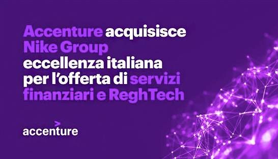 Accenture buys Italian regulatory consultancy Nike Group