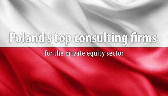 Poland's top consulting firms for the private equity sector
