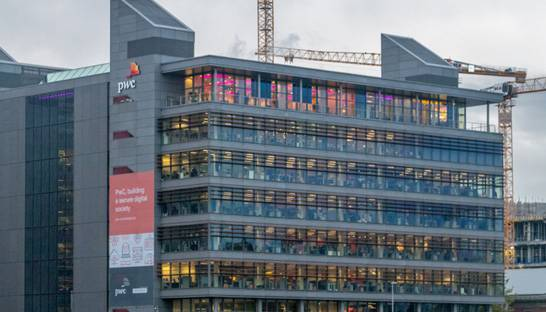 PwC the largest accounting and consulting firm in Ireland