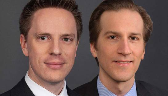Benedikt Frank and Enzio Reincke partner at Kearney Germany