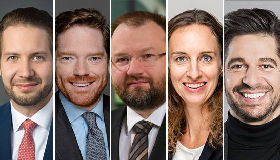 Roland Berger appoints five new partners in DACH region