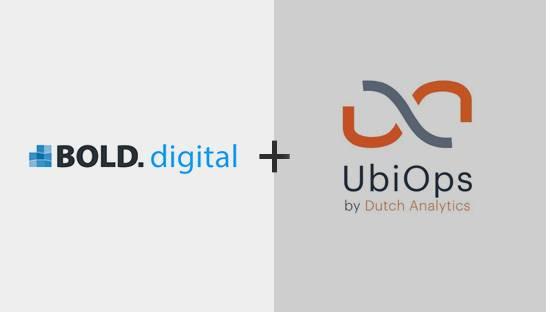 BOLD bridges data science to IT gap with UbiOps platform