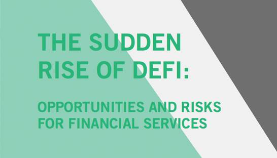 Decentralised finance a tremendous opportunity for Europe