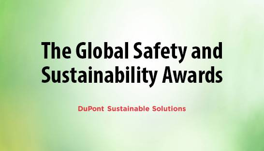 Meet the winners of the global DSS Safety and Sustainability Awards