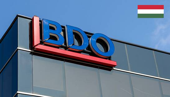 BDO brings two advisory practices in Hungary under one roof