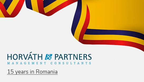 Horváth & Partners celebrates 15 years of business in Romania
