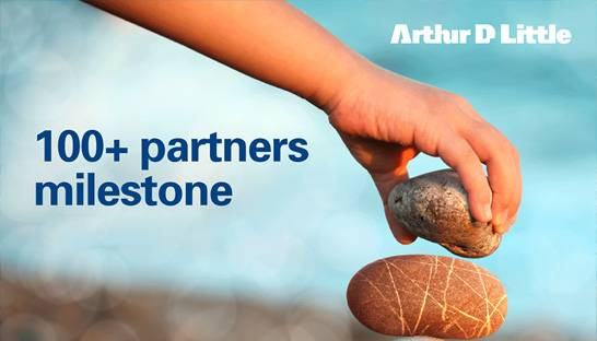 Arthur D. Little hits milestone with 100+ partners worldwide