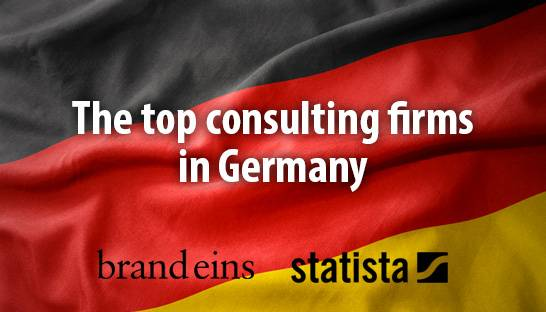 The top management and digital consulting firms in Germany