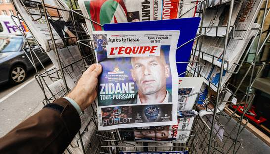 AI helps L'Équipe with better forecasting newspaper demand