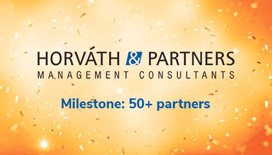 Horváth & Partners hits milestone with 50+ partners