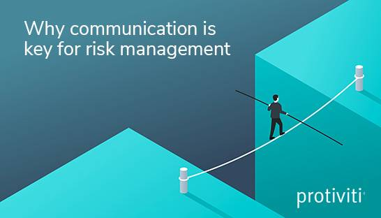 Why communication is key for effective risk management